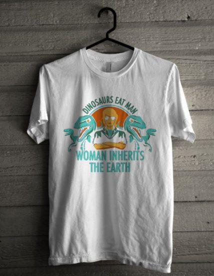 Woman Inherits The Earth Unisex T Shirt