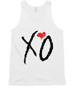 XO weeknd Logo RC Unisex Tank Top