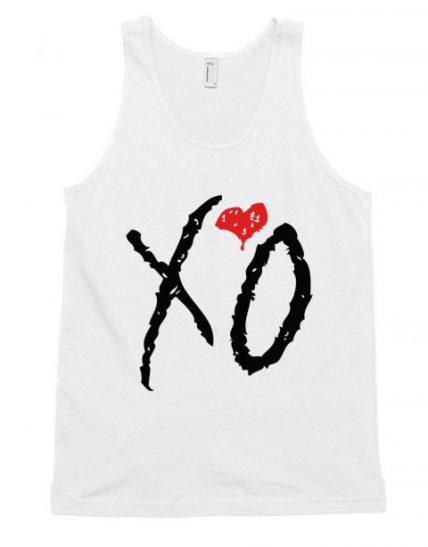XO weeknd Logo RC Unisex Tank Top