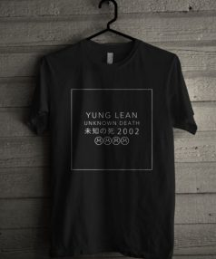 Yung Lean Unknown Death 2002 Unisex T Shirt