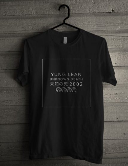 Yung Lean Unknown Death 2002 Unisex T Shirt