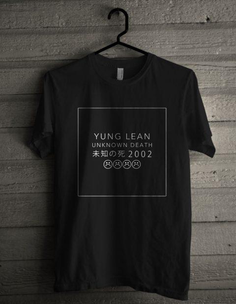 Yung Lean Unknown Death 2002 Shirt