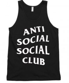 Anti Social Club Unisex Tank Top