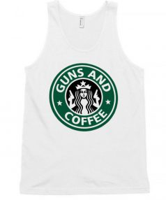 Guns and Coffee RC Unisex Tank Top