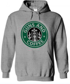 Guns and Coffee RC Unisex Adult Hoodie