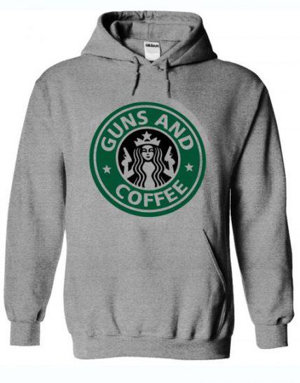 Guns and Coffee RC Unisex Adult Hoodie