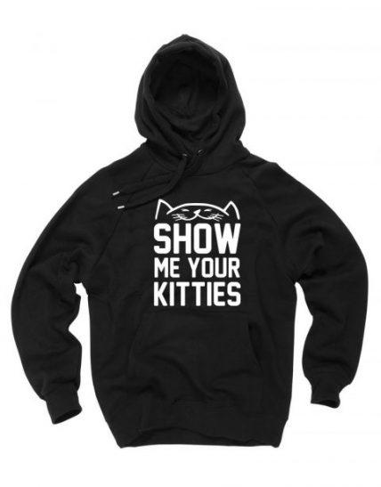 Show Me Your Kitties Unisex Adult Hoodie