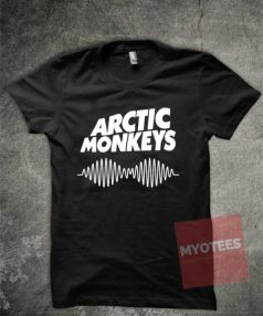 Arctic Monkeys Black Unisex T Shirt