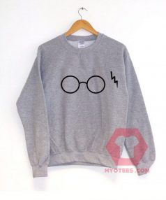 Harry Potter Glasses Unisex Sweatshirt