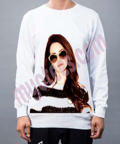 Lana Del Rey Nylon Unisex Sweatshirt