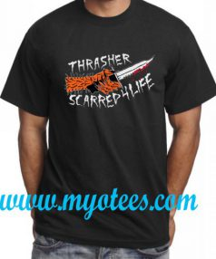 Thrasher Scarred For Life Unisex T Shirt