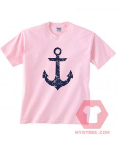 Anchor Light Pink Unisex T Shirt
