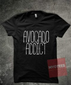 Avocado Addict Unisex T Shirt