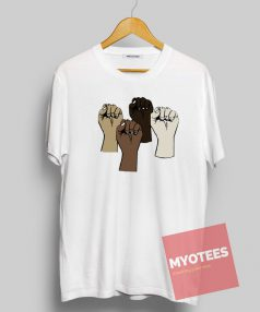 Black lives matter hands Unisex T Shirt