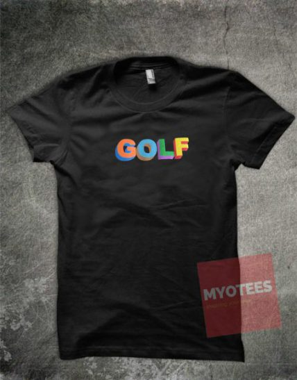 GOLF Colorful Unisex T Shirt