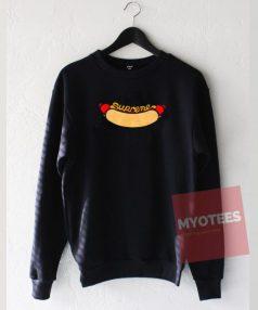 Hot Dog Unisex Sweatshirt