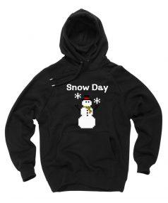 Snow Day Unisex Adult Hoodie