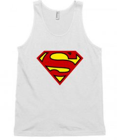 Superman Logos Unisex Tank Top