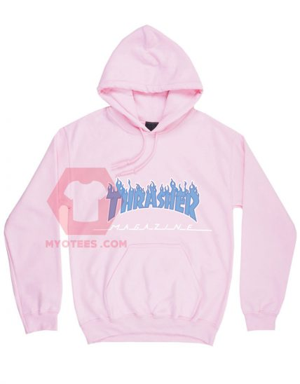 Thrasher Light Pink Unisex Adult Hoodie