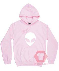 Alien Head Unisex Adult Hoodie