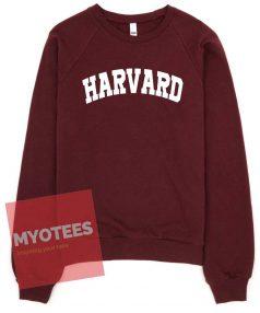 Harvard Maroon Unisex Sweatshirt