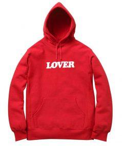 Lover Red Unisex Adult Hoodie