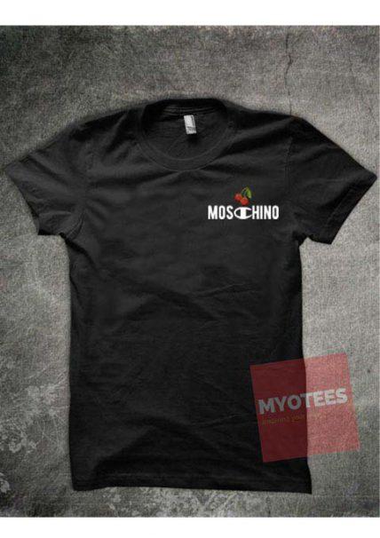 Moschino X Champion Unisex T Shirt
