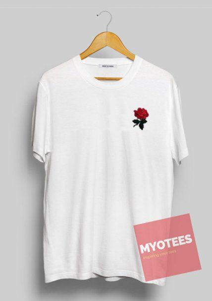 Red Rose Unisex T Shirt