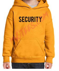 Security Unisex Adult Hoodie