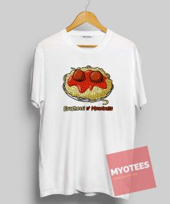 Spaghetti and Meatballs Unisex T Shirt