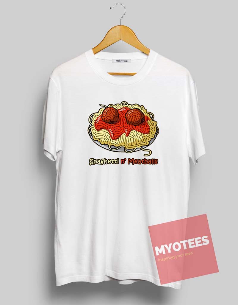 Spaghetti And Meatballs Unisex T Shirt My O Tees