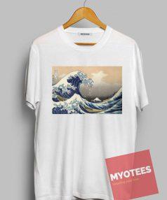 The Great Wave off Kanagawa Unisex T Shirt