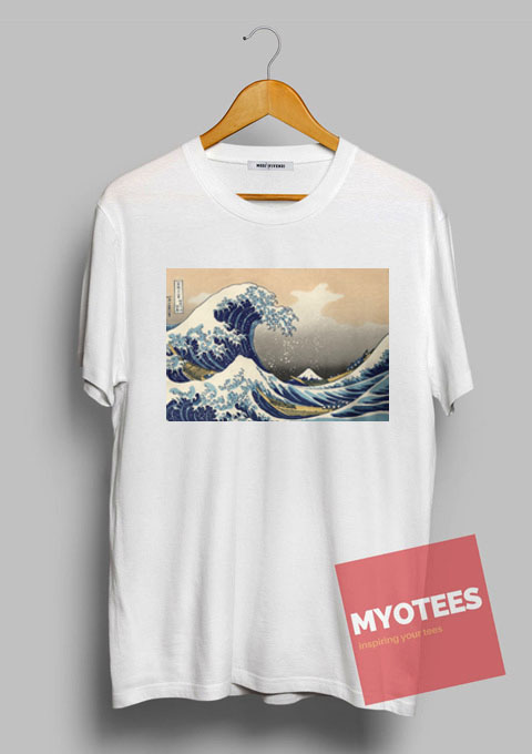 The great wave off kanagawa unisex t shirt my o tees The great t shirt
