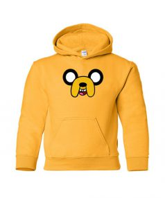 Adventure Time Jake Face Unisex Adult Hoodie
