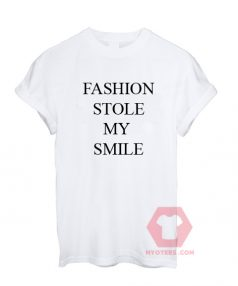 Fashion Style My Smile Unisex T Shirt