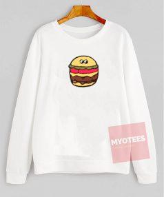 Funny Cheeseburger Unisex Sweatshirt