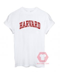 Harvard White Unisex T Shirt