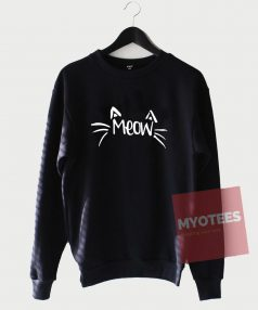Meow Cat Unisex Sweatshirt