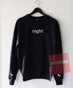 Night Moon Unisex Sweatshirt