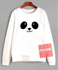 Panda Face Unisex Sweatshirt