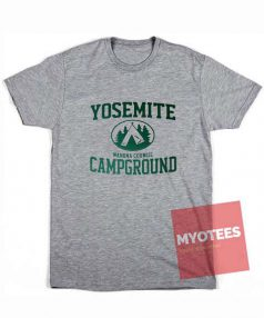 Yosemite Campground Unisex T Shirt