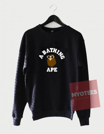 A Bathing Ape Wear Glasses Unisex Sweatshirt