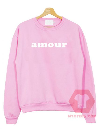 Amour Unisex Sweatshirt