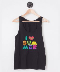 I Love Summer - For Unisex Tank Top