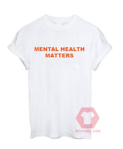 Mental Health Matters Unisex T Shirt