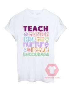 Teach Mentor Inspire Unisex T Shirt