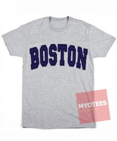 Best T shirt BOSTON Grey T-Shirt Unisex on Sale