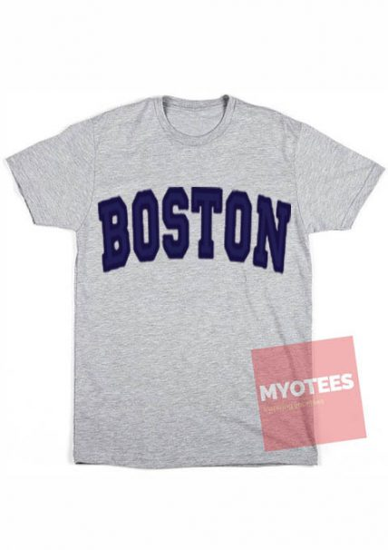 Best T shirt BOSTON Grey T-Shirt Unisex on Sale