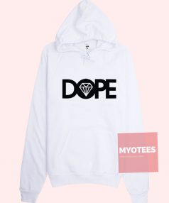 New Hoodie Dope Circle Diamond Unisex on Sale