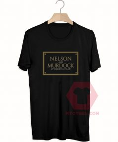 Best T shirt Nelson And Murdock Unisex on Sale